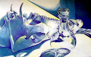 Bone Glass by Kuthinks