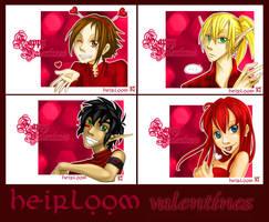 Heirloom Valentines by Kuthinks