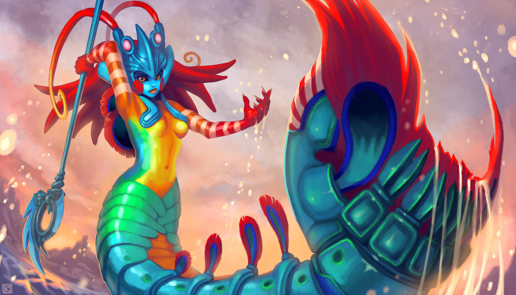 Mantis Shrimp Nami by Kuthinks