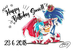 Sonic birth day 2018