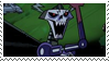 Skeleton King Stamp by QueenOfCuttlefishes