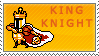 King Knight Stamp by KingRebecca