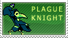 Plague Knight Stamp by KingRebecca