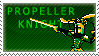 Propeller Knight Stamp by QueenOfCuttlefishes