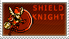Shield Knight Stamp by QueenOfCuttlefishes