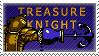 Treasure Knight Stamp by KingRebecca