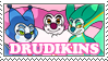 Drudikins stamp by KingRebecca