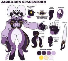 Jackaron Spacestorm the Drudikin (2017) by StarryTiger