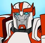 Let Ratchet smile for Primus sake
