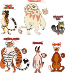 Mugushi OTA: Big Cats (CLOSED) by StarryTiger