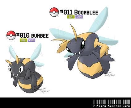 010 - 011: Bumblebee Fakemon