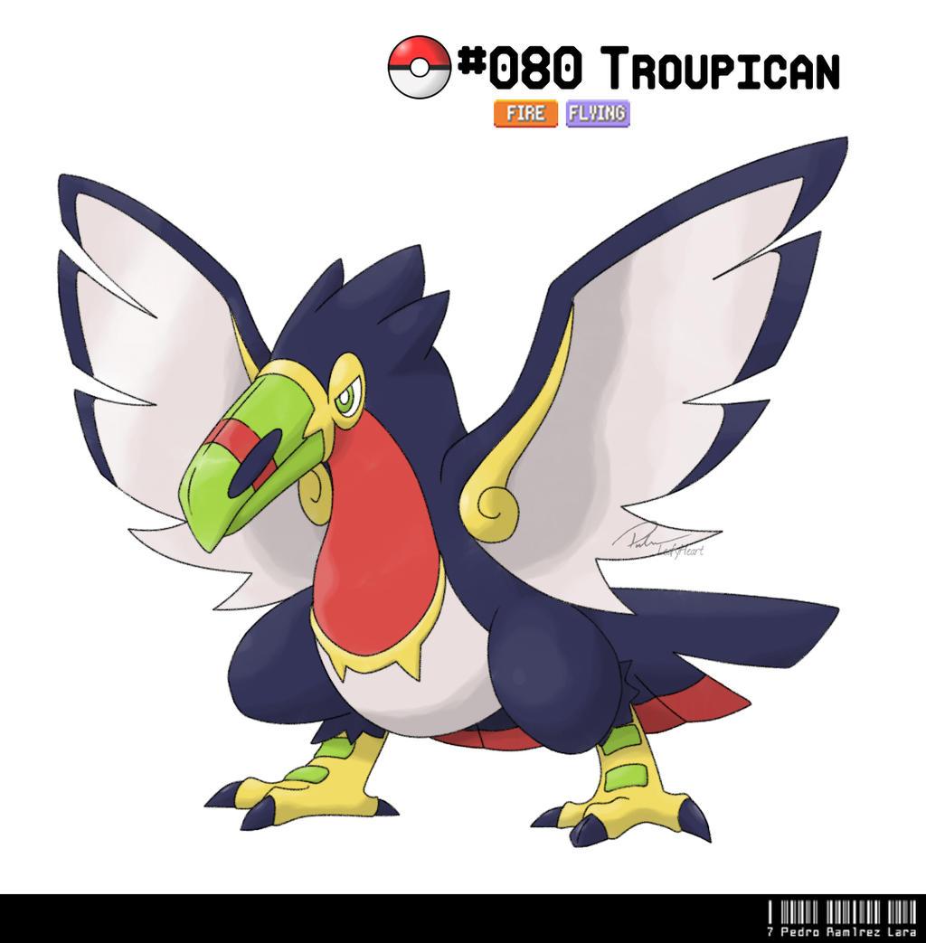 080 Toucan Fakemon By LeafyHeart On DeviantArt