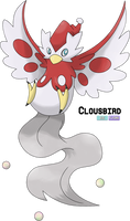 Contest Entry - Delibird Evo: Clousbird by LeafyHeart