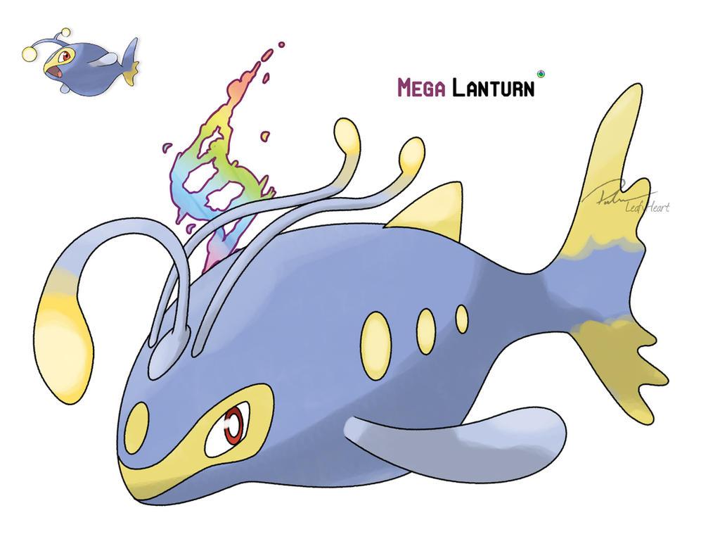 Mega Lanturn by LeafyHeart