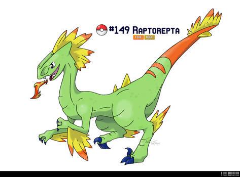 149 - Raptor Fakemon Fossil