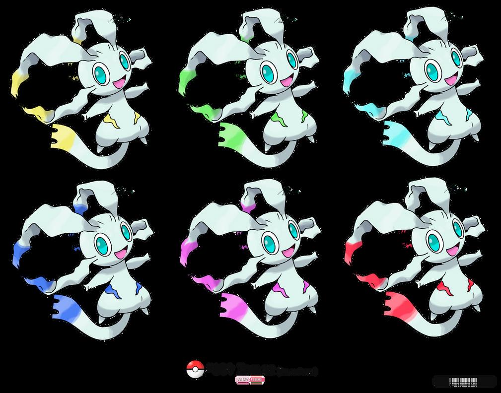 Vuestros 'Fakémon' preferidos - Página 3 _189___iriliz__legendary_fakemon__color_forms__by_leafyheart-d6tn5n2