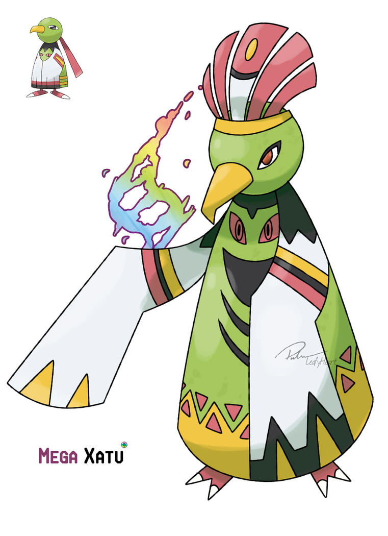 Mega xatu by leafyheart on deviantart - Pokemon y mega evolution ...