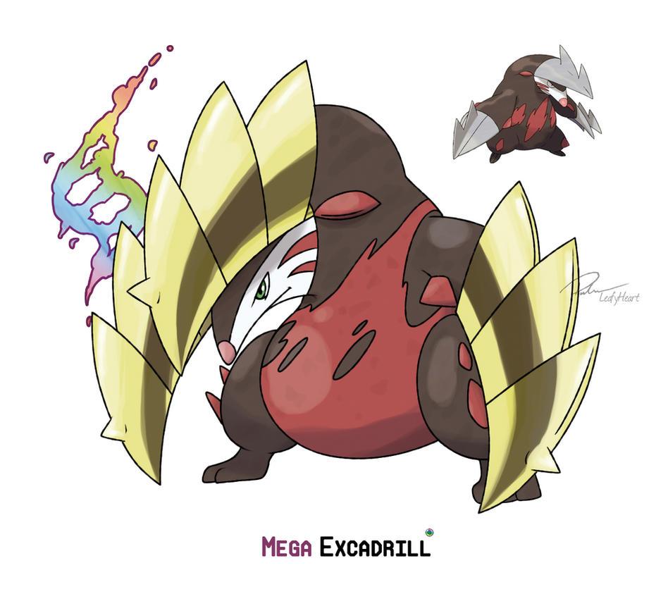 Mega excadrill by leafyheart on deviantart - Mega evoltion ...