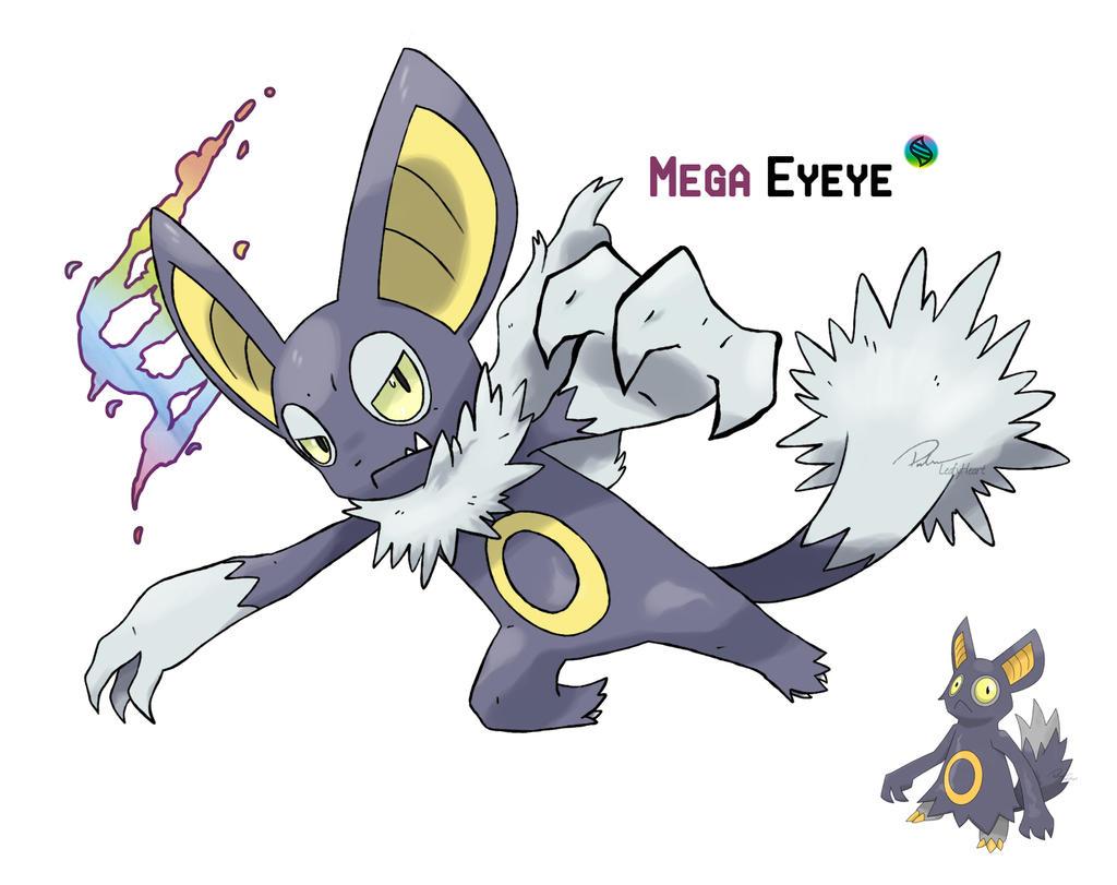 Mega Eyeye by LeafyHeart