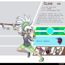 4th Gym Leader: Clove - Dark by LeafyHeart