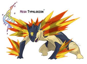 Mega Typhlosion by LeafyHeart