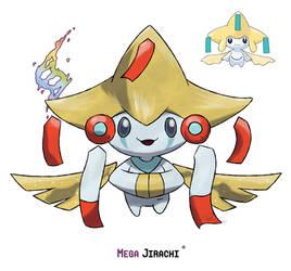 Mega Jirachi by LeafyHeart
