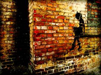 Lonely girl... by SPLinTER-OPS