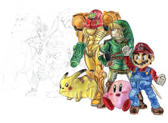Super Smash Bros Brawl by Rayodev