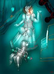 Steel Girl 1 by engineskye