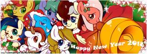 MLP Ocs - Christmas Theme by KumikoPonyLK