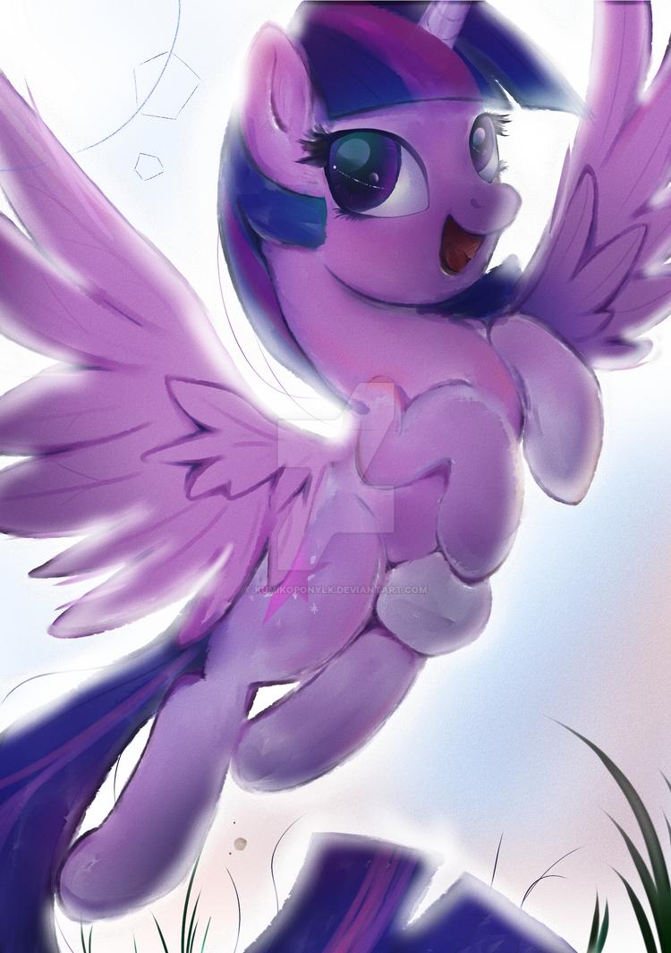 Princess Twilight Sparkle by KumikoPonyLK