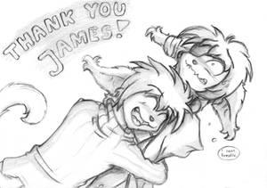 Thank you, James!!