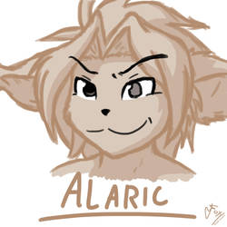 Not-Daily Doodle #2. Alaric