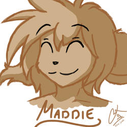 Not-Daily Doodle #12. Maddie