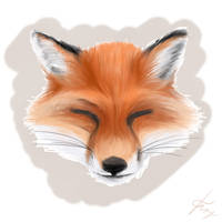 A Fox (Fur-Making, second attempt) by OnlyOneFoxy