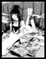 Yuko, xxxHOLiC by Perynne