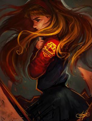 Hermione Granger by Eldensa