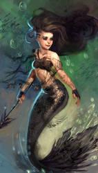 Badass Mermaid PALINA by Eldensa