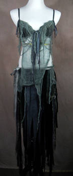 Zombie Belly Dance costume