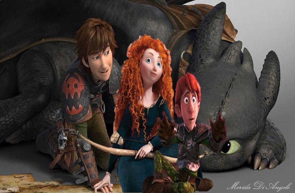 Mericcup Family by MeridaDiAngelo