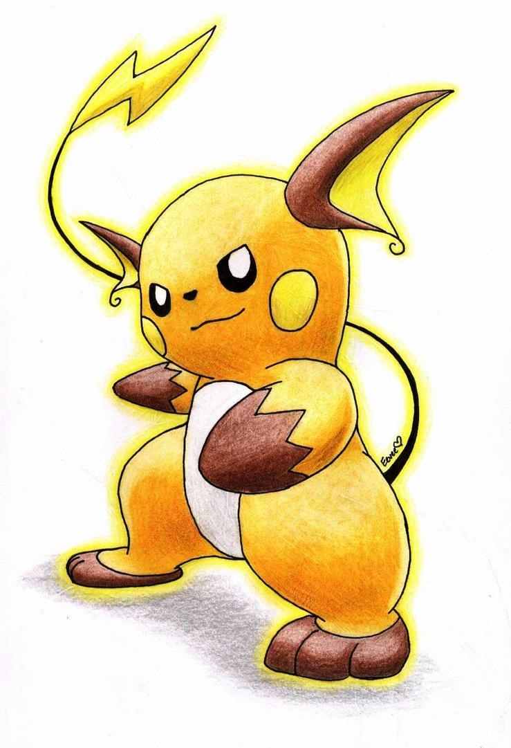 Raichu by chibi pokemon draws on deviantart - Pokemon x raichu mega evolution ...