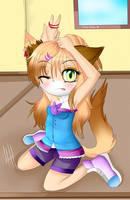 Personaje antiguo actualizado -Keyti- by skatesai5
