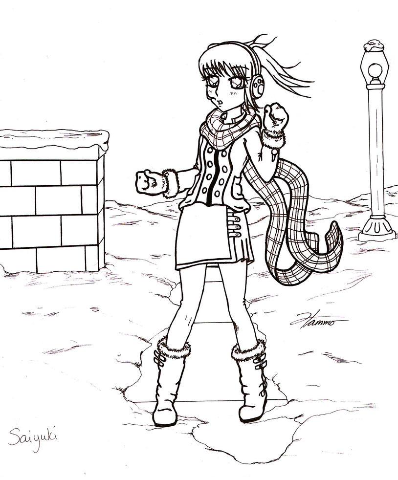 line art: Saiyuki by ham2010
