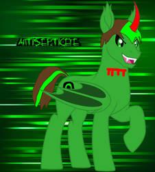Anti the demon bat pony