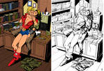 Wonder Woman Bombshell By Renemicheletti