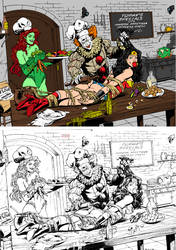 Wonder Woman Poison Ivy And Pennywise