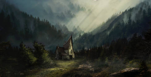 A Cottage In The Woods