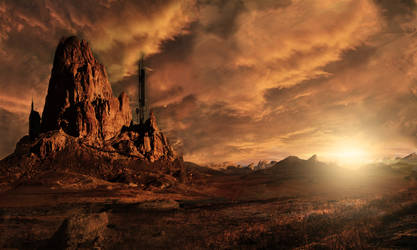 Desert Landscape Concept