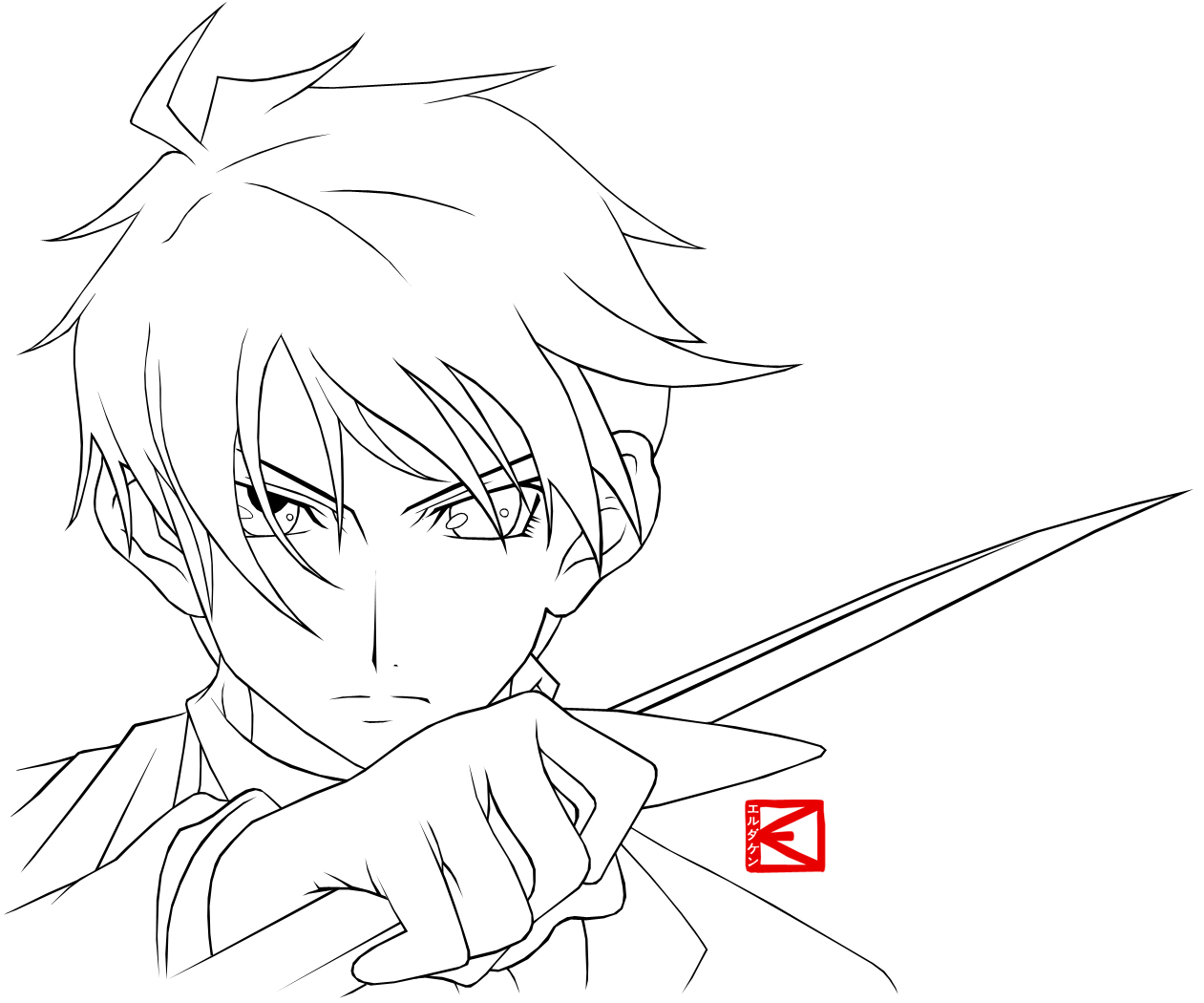 Portfolio Anime Guy Coloring Pages Portfolio Anime Guy Coloring Pages