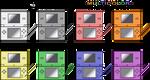 Nintendo DS Colored Sprites